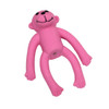 "Li'l Pals® 4"" Latex Monkey Dog Toy - Pink"