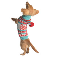 Peppermint Dog Hoodie