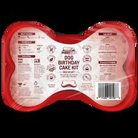 Puppy Cake Dog Birthday Cake Kit- Red Velvet