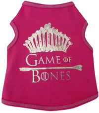 Game of Bones Dog Tank