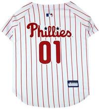 Philadelphia Phillies Pinstripe Dog Jersey