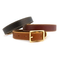 Lake Country Collection Stitched Leather Collars