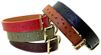Savannah Collection Leather Collars