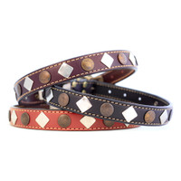 Heirloom Collection Studded Leather Collars