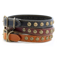 Heirloom Collection Star Leather Collars