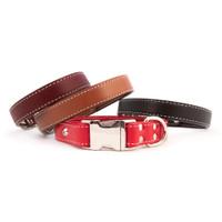 Seneca Side-Release Leather Collars