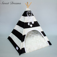 Teepee Collection Luxury Dog Bed