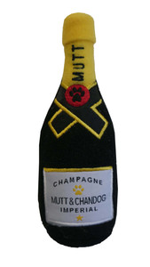 Mutt & Chandog Champagne Toy