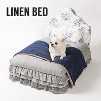 Louisdog Linen Bed