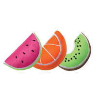 Fruit Wedge Freezeable Dog Toy