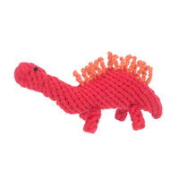 Stew the Stegosaurus Rope Dog Toy