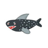 Oscar the Shark Sea Pals Floating Toy