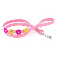 Flower Leather Leashes