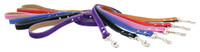 Saratoga Suede Collection Leather Leashes