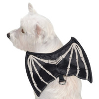 Skeleton Glow Wing Harness Costume
