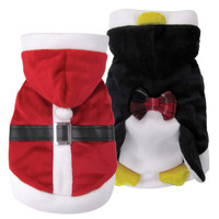 Reversible Santa/Penguin Costume