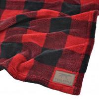 Hunters Plaid Fleece Blanket