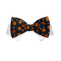 Pumpkin Bow Tie Collar
