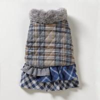 Louisdog Triple Frills Egyptian Cotton Coat