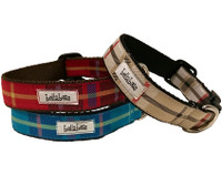 Dogberry Plaid Collar & Lead