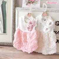 Wooflink Rosette Dress