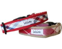 Cotton Plaids Collar & Lead