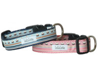 Cupcakes & Stripes Collar & Lead