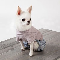 Louisdog Indigo Flowers Pants