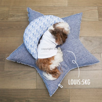 Louisdog Linen Star Cushion