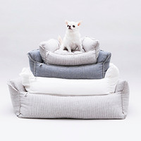 Louisdog Linen Boom Bed