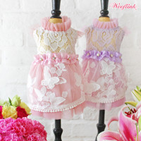 Wooflink Butterfly Garden Dress