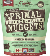 Primal Freeze-Dried Canine Chicken Formula Food