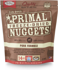 Primal Freeze-Dried Canine Pork Formula Food