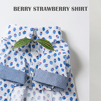 Louisdog Berry Strawberry Shirt