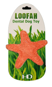Organic Starfish Dental Loofah Toy