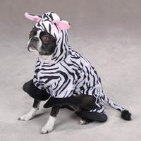 Zebra Dog Costume