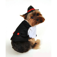 Gangster Dog Costume