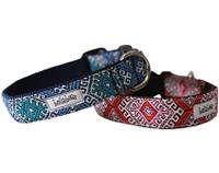 Modern Morocco Collar & Lead