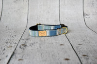 French Stripe Collar & Lead