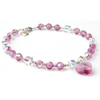 Oscar Newman Pink Ice Necklace