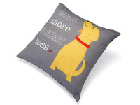 Wag More Bark Less Decorative Pillow