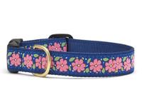 Pink Garden Dog Collar