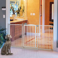 Tall One-Touch Pet Gate II Wide