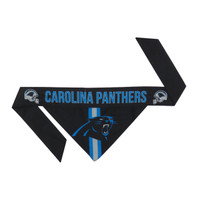Carolina Panthers Tie-On Dog Bandana