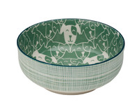 Patch Dog Deep Bowl