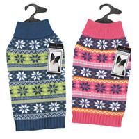 Elements Bright Snowflake Sweater