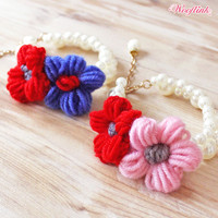 Wooflink Flower Girl Necklace