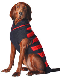 Red & Navy Rugby Sweater