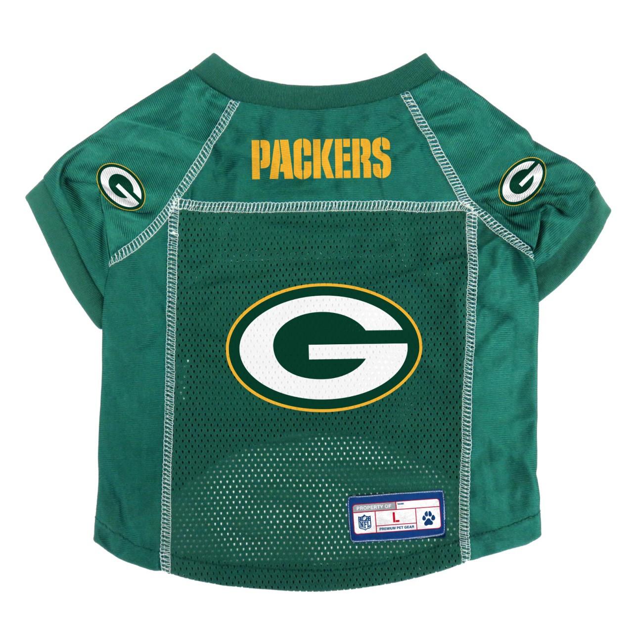 Green Bay Packers Pet Jersey 24d2899e9
