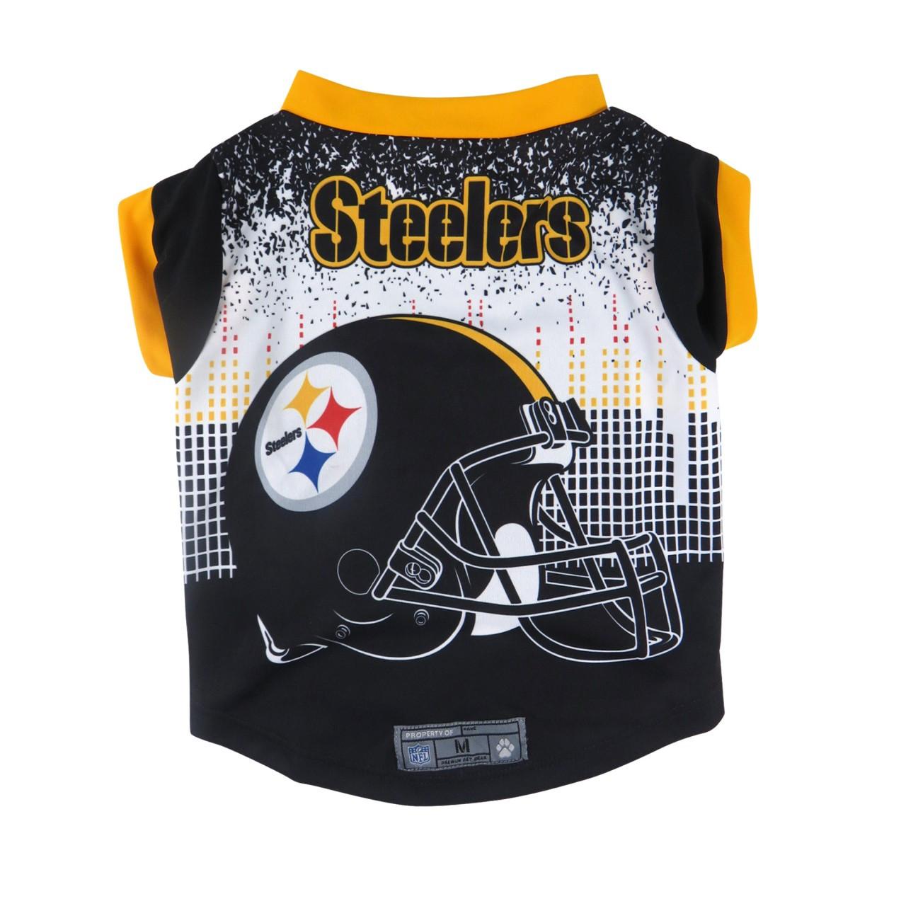 45dab052cf5 Pittsburgh Steelers Pet Performance Tee